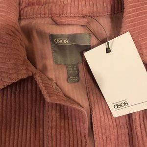 ASOS Jackets & Coats - 👚NWT! ASOS Dusty Rose Corduroy Jacket